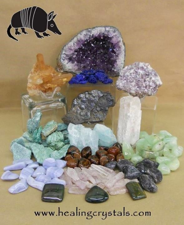 Amethyst and Armadillo Animal Totem - Daily Crystal Nugget - Information About Crystals As A Healing Tool