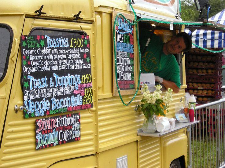 Citroën HY, tea and toast food truck.