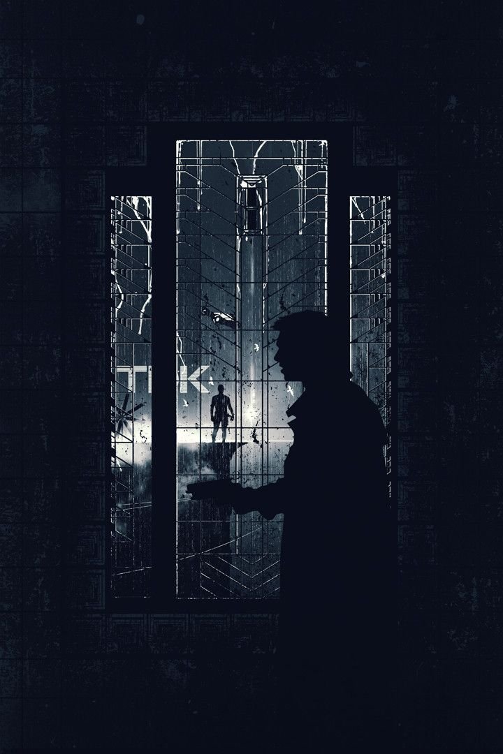 "Blade Runner by Justin Van Genderen (Part of the Glow in the Dark art show ""When the Lights Go Out"")"