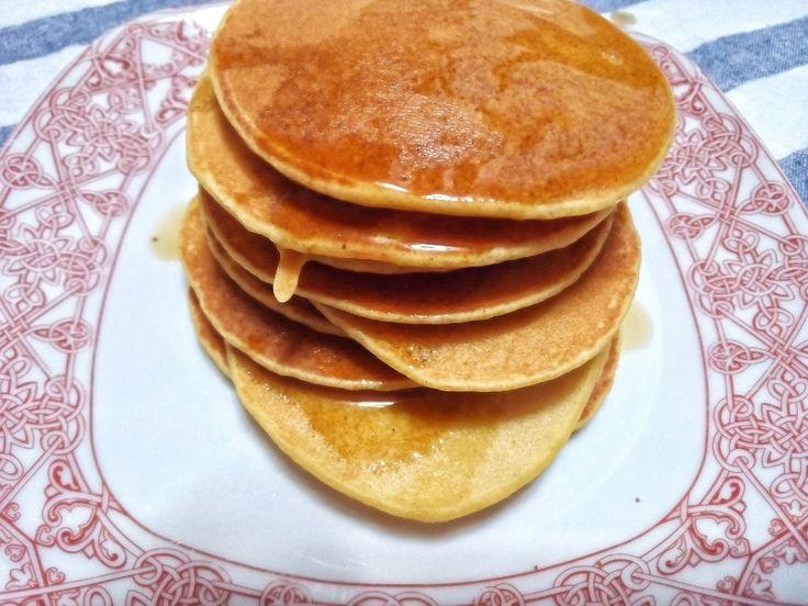 Tortitas sin gluten y sin lactosa. Muy fáciles de hacer y saludables.