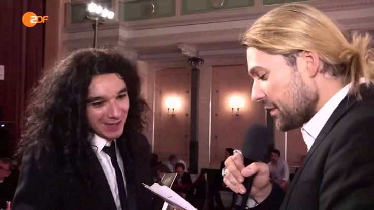 David Garrett & Nemanja Radulović - Backstage Interview - ECHO Klassik 2015