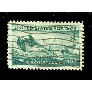 """1945 """"Coast Guard Issue"""" 3 Cents Stamp (#936)"""