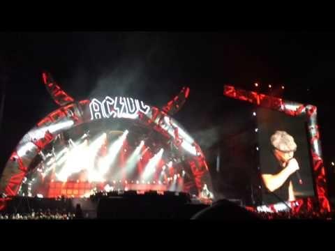 AC/DC live Quebec City