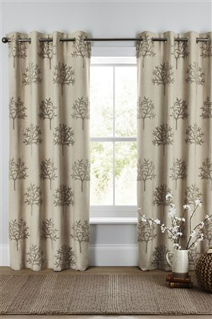 Buy Natural Boucl Embroidered Tree Eyelet Curtains From The Next UK Online Shop UkThe NextUk OnlineLiving Room IdeasCurtains