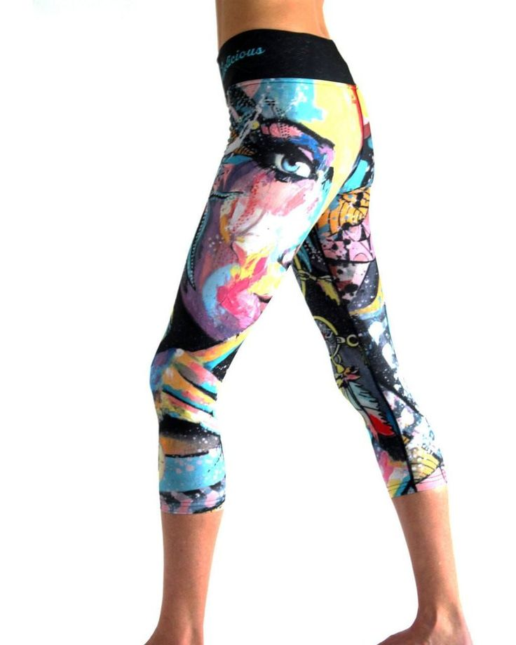 Tech 3/4 Capri Leggings - Dream Whisperer #3/4-LEGGINGS #CAPRI #CAPRI-LEGGINGS