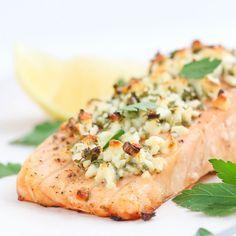 Feta and Herb Salmon Recipe