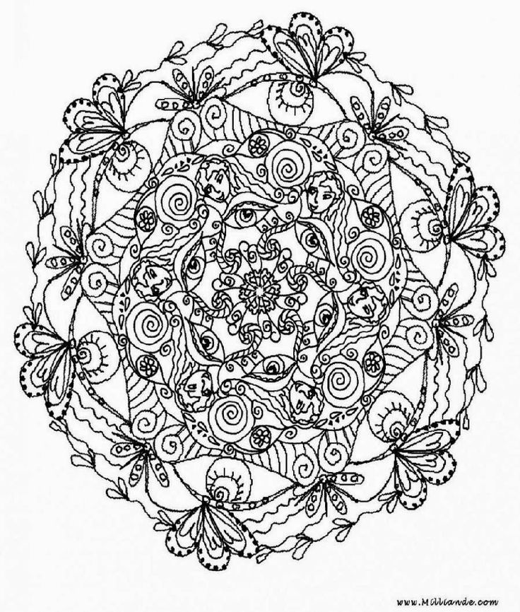 mandalas with flowers vegetation mandalas zen anti stress page 2 awesome coloring pages - Art Therapy Coloring Pages Mandala