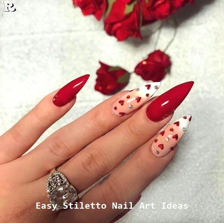 30 große Stiletto Nail Art Design-Ideen #nailart #nail – N a i l s