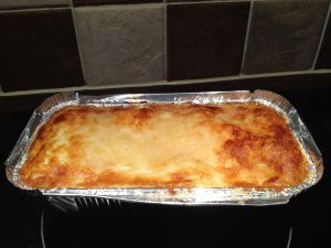 So, I decided to put up the recipe for the lasagne I made for group last Monday, since I'm making a batch of it today. It would be entirely syn free if not for the parmesan on top (which can be use...