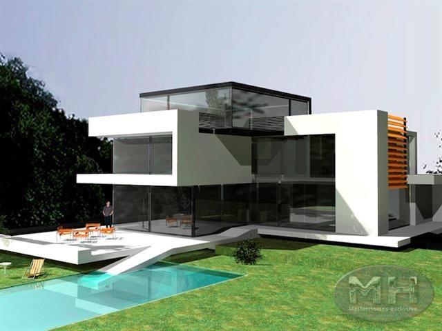 Luxueuse propri t r pondant aux exigences architecturales for Modernes haus zurich
