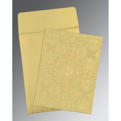 Give your wedding a special feel with our exclusive White/Offwhite/Cream/Ivory, Shimmer Paper, Gujarati Wedding Cards - G-8244J