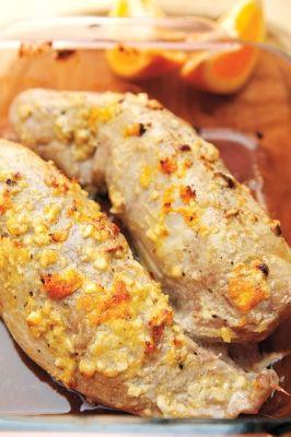 Filet de porc marin aux agrumes recettesduqc souper - Cuisiner le jarret de porc ...