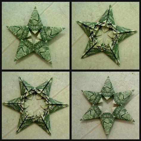 Picture of $tars (dollar bill origami stars)