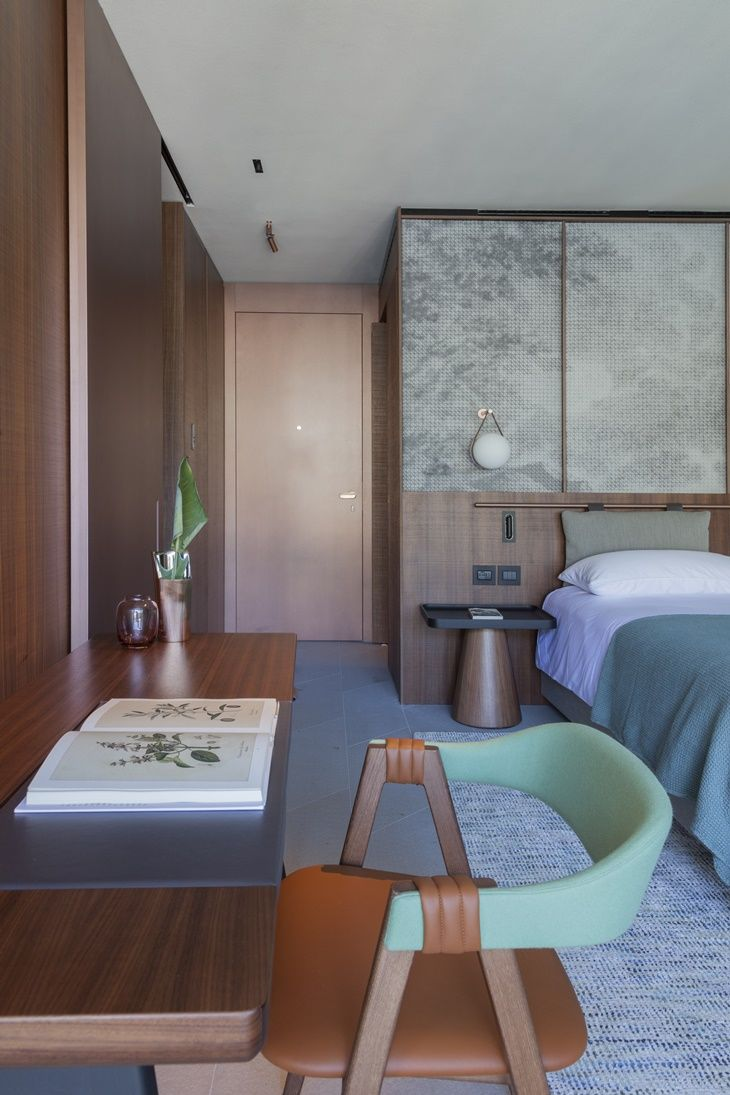 Suite at Il Sereno Hotel, by Patricia Urquiola