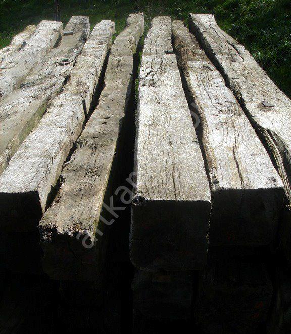 Старинные деревянные балки. Продажа