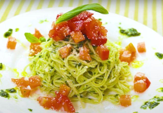 簡単イタリアンアレンジ!ジェノベーゼ風そうめんの作り方  - macaroni