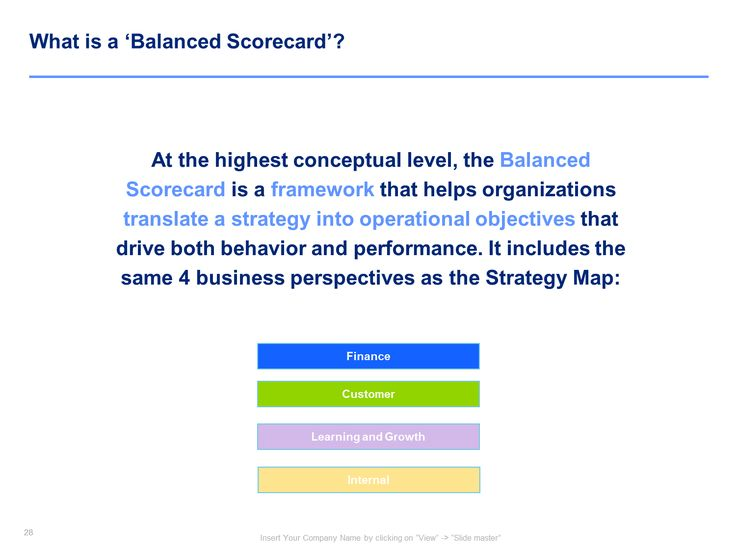 12 best strategy map template balanced scorecard template by balanced scorecard template pronofoot35fo Images