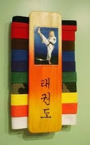 how to store and display taekwondo belts - Google Search