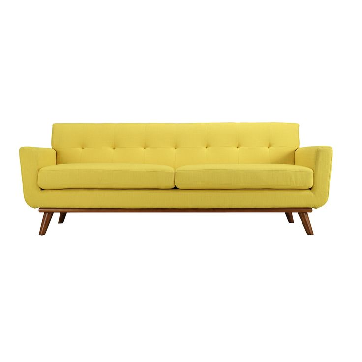 spiers sofa in yellow. Black Bedroom Furniture Sets. Home Design Ideas