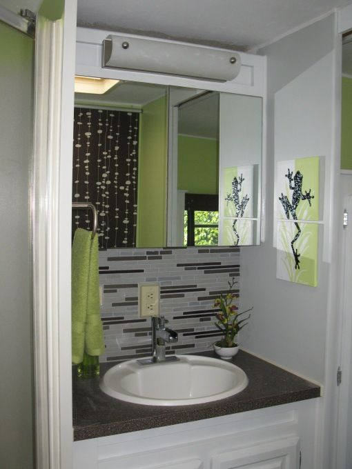 Update Camper bathroom!