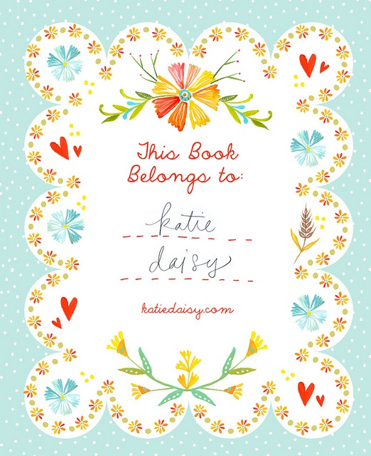 Darling etsy shop! Love the typography, color and sentiment.