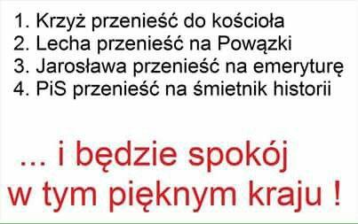 4 przykazania dla Polski