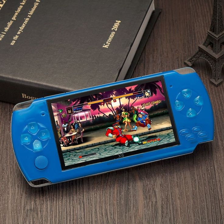 8GB 32Bit 4.3'' 10000 Games Built-In Portable Handheld Video Game Console Player