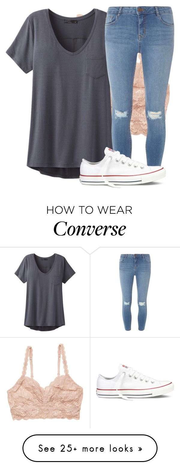 """Untitled #2506"" by laurenatria11 on Polyvore featuring Cosabella, prAna, Dorothy Perkins and Converse"