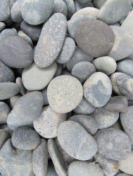 Siergrind beach pebbles black 10-30 mm