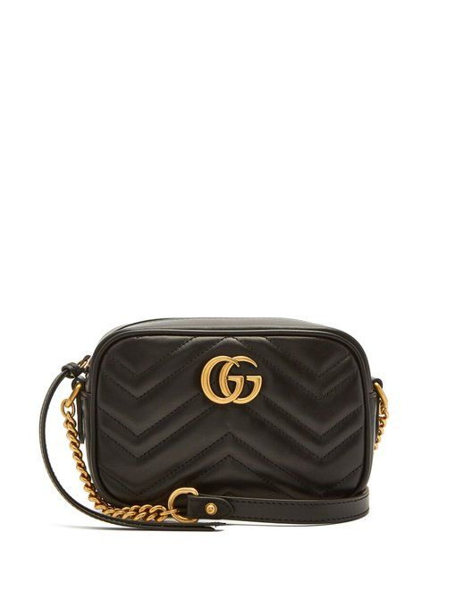 GG Marmont mini quilted-leather cross-body bag  c5178108b684c
