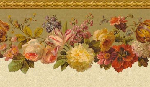 Коллекция картинок: Цветочные бордюры