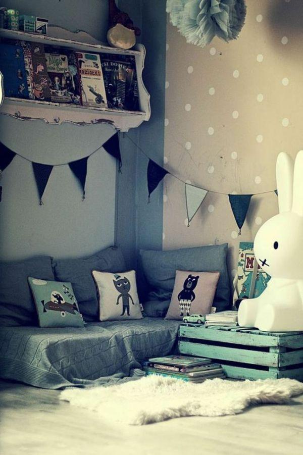Kuschelecke kinderzimmer junge  72 besten Kinderzimmer Bilder auf Pinterest | Kinderkram ...