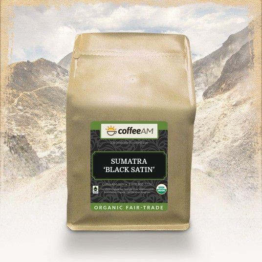 Organic Sumatra Black Satin Roast Coffee