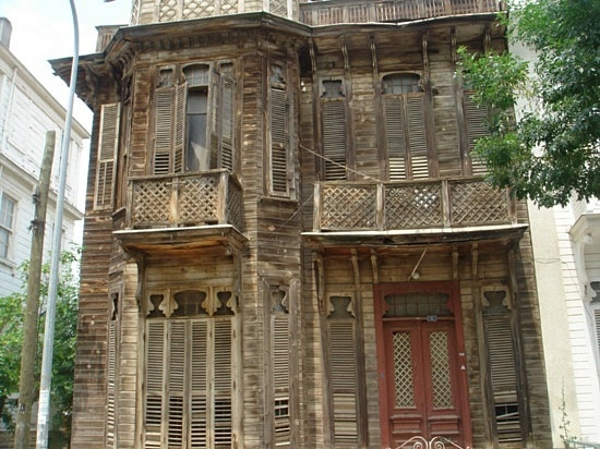 Ottoman house in Istanbul