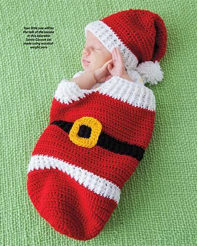 Bolsa para bebe de Santa Claus