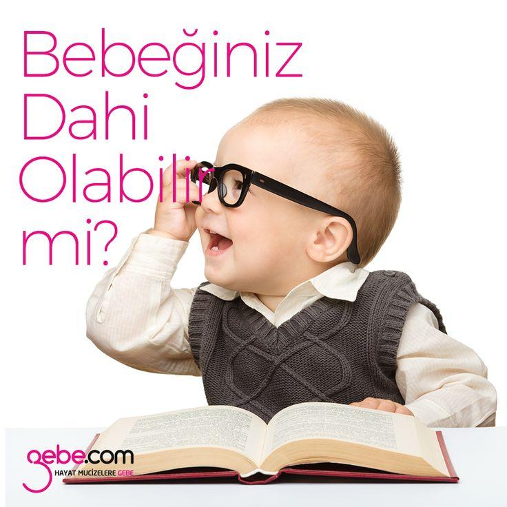 Hemen her ebeveyn bebeklerinin özel olduğunu düşünse de dahi bir bebeğe sahip olmak ender rastlanan bir durumdur. Peki sizin bebeğiniz dahi olabilir mi? ▶️goo.gl/z4c3NO