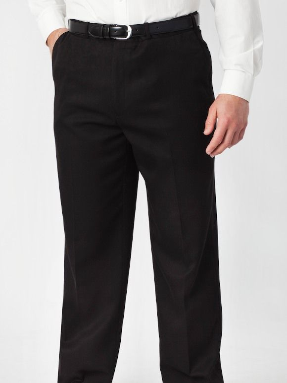 Robert Huntley Gaberdine Trousers