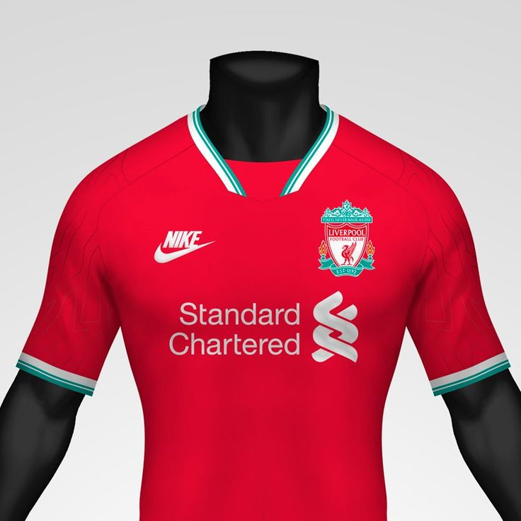 1990s Inspired Nike Liverpool 20 21 Concept Home Kit By Kifth Footy Headlines In 2020 Liverpool Kit Liverpool Liverpool Logo