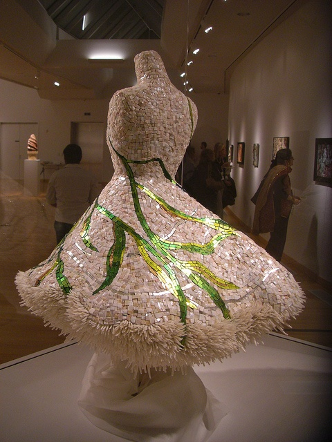 """Julie Richey's MAI 2011 mosaic, La Corrente (The Current)"""" 2010, awarded Best 3-D by kinsella5555, via Flickr"""
