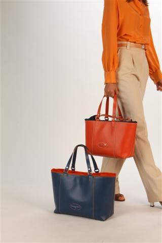 Glenn Bicolour shopping bags!