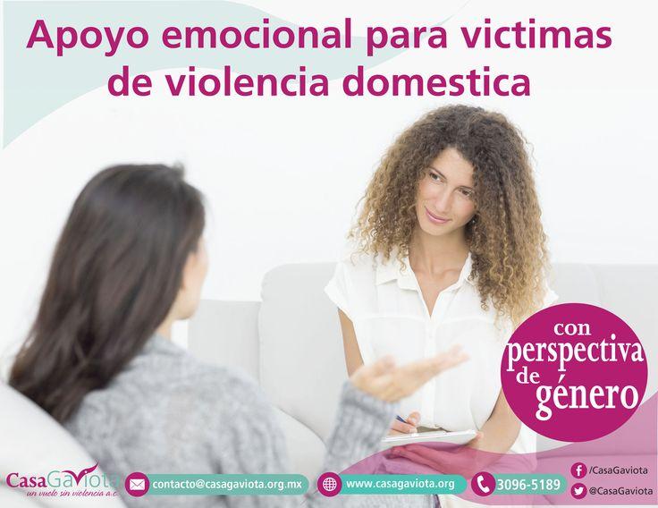 Apoyo emocional para mujeres de violencia domestica  con perspectiva de género (presencial, telefonica ó videollamada)