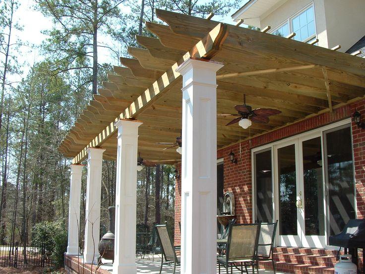 32 best exterior columns images on pinterest | exterior, columns ... - Patio Columns Design