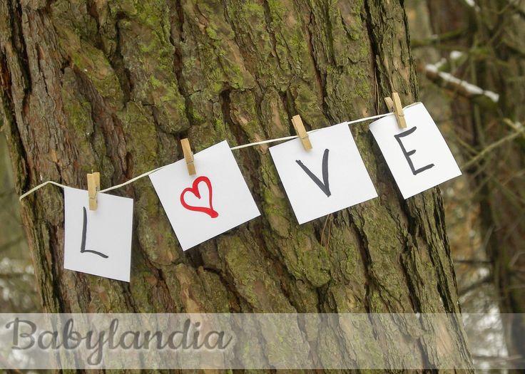 Girlanda LOVE