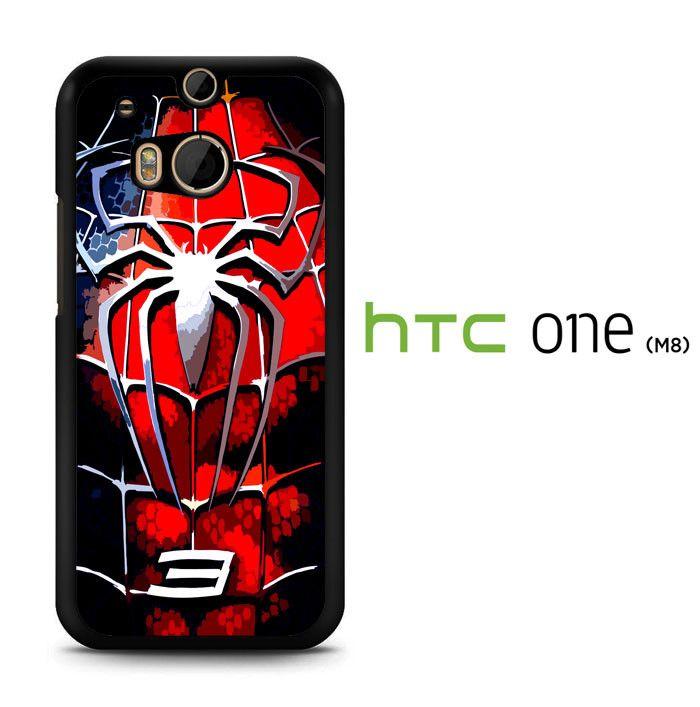 spder man 3 chest R0141 HTC One M8 Case