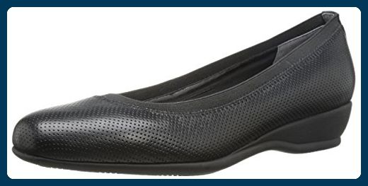 Trotters Lansing Damen US 5 Schwarz Keilabsätze - Sandalen für frauen (*Partner-Link)