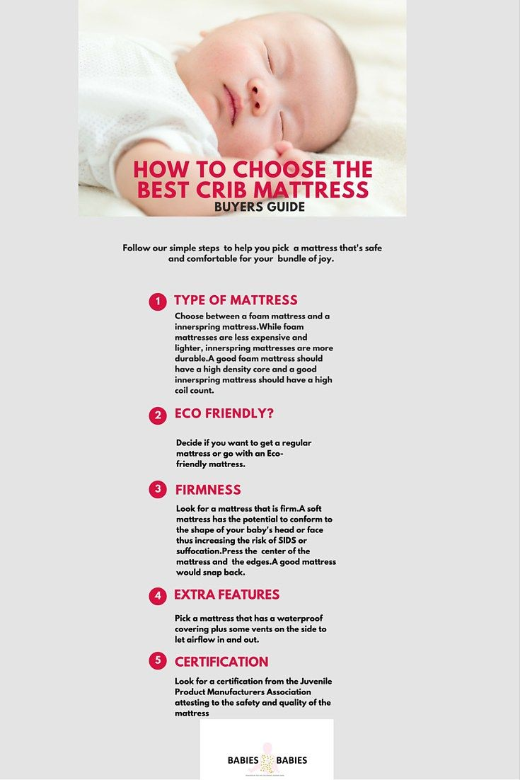 How To Choose The Best Crib Mattress Ers Guide