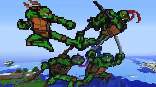 Teenage Mutant Ninja Turtles #minecraft #gaming #geek ...