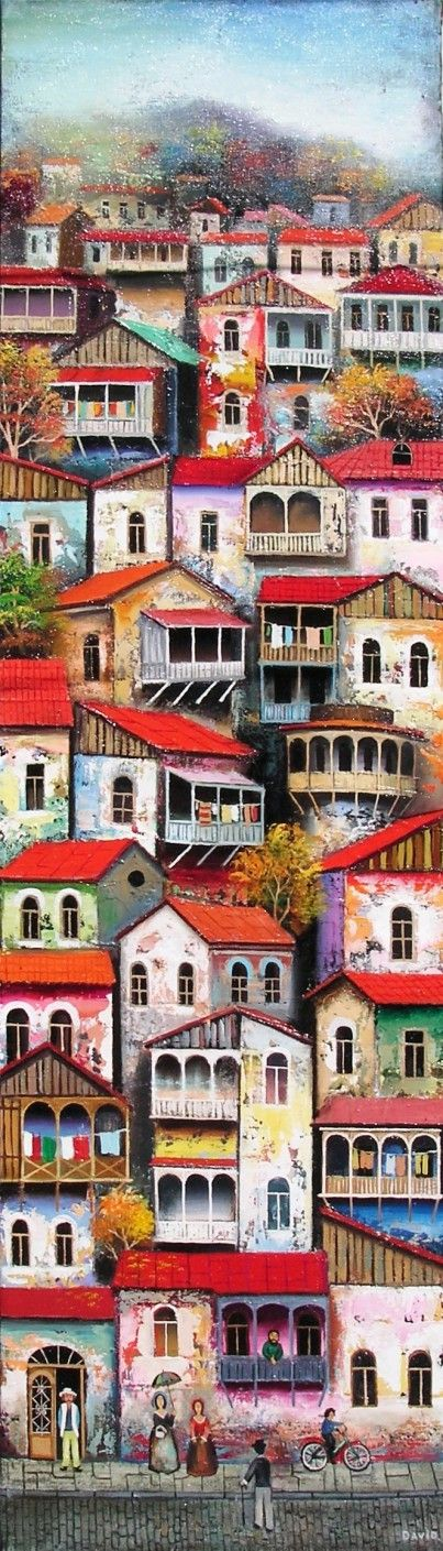 Salire lungo il sonno della città verticale (David Martiashvili).