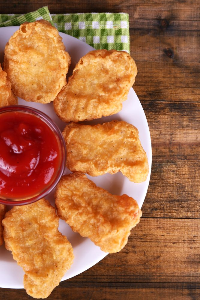 Nuggets de Pescado.