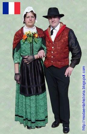 Resultado de imagen para francia traje tipico